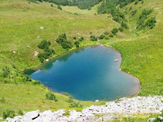 Фото Архыз Озеро Любви