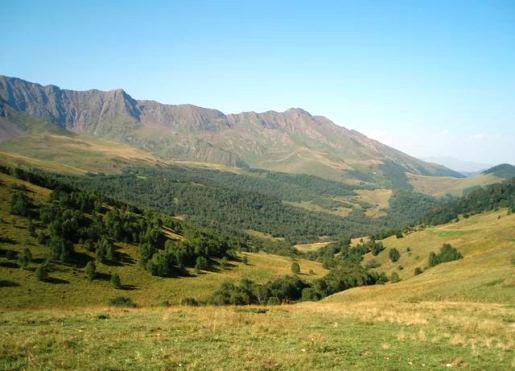 Самой высокой горой хребта Ужум является Морхсырты - 3140 м.