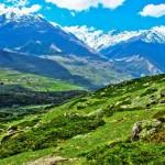 Хребет Ужум находится на востоке Архыза